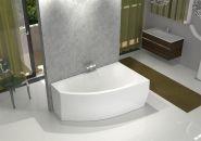 Акриловая ванна DOMANI-SPA STYLE 160x96 правая без гидромассажа
