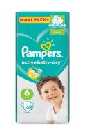 Pampers Active Baby-Dry Extra Large 13-18kg, 48ədəd