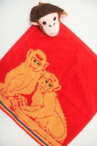 Полотенце детское хлопковое с рисунком (35*35) арт.   203532