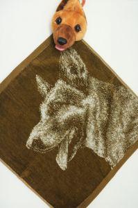 Полотенце детское хлопковое с рисунком (36*36) арт. 203524