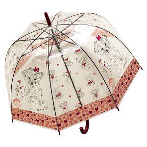 Зонт Собака с бантиком