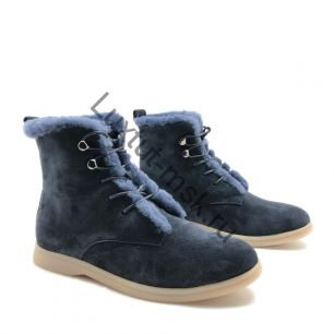 Ботинки Loro Piana с мехом