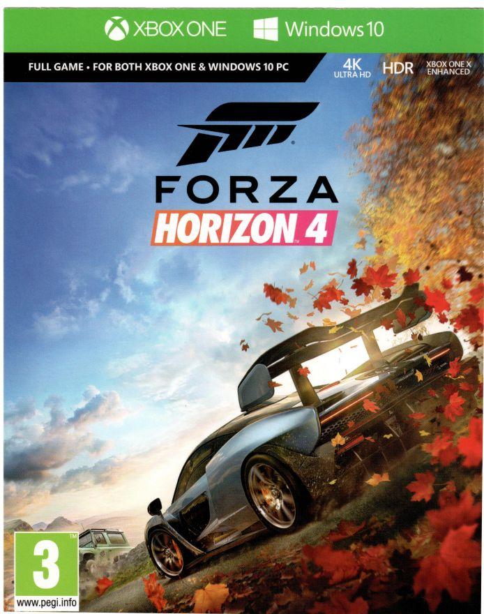 Игра Forza Horizon 4 (XBOX One, русская версия) (код на загрузку)
