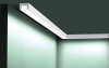 Карниз для Скрытого Освещения Гибкий Orac Decor CX190F Д200xШ3xВ2 см Лепнина из Дюрополимера / Орак Декор