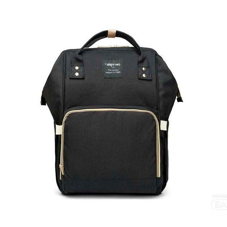 Сумка-рюкзак для мамы Baby Mo (MUMMY BAG), цвет черный