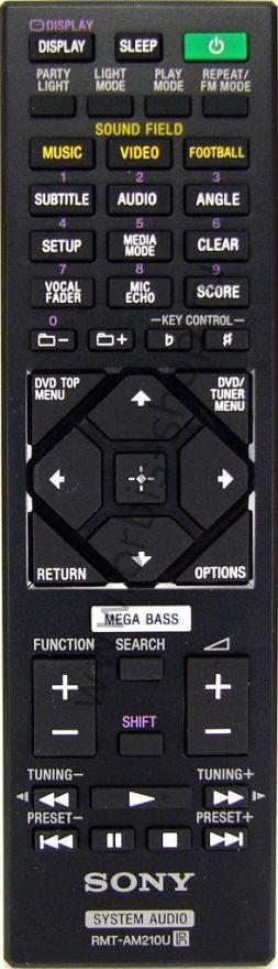 Пульт для музыкального центра Sony RMT-AM210U