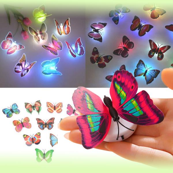 Светящаяся LED бабочка