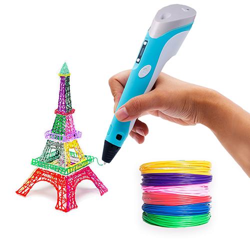 3D ручка c LCD дисплеем 3D Pen-2