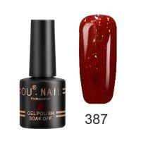 Гель-лак №387 Ou Nail, 8 мл