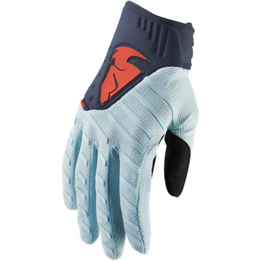 Thor - Rebound Sky/Midnight перчатки, серо-синие