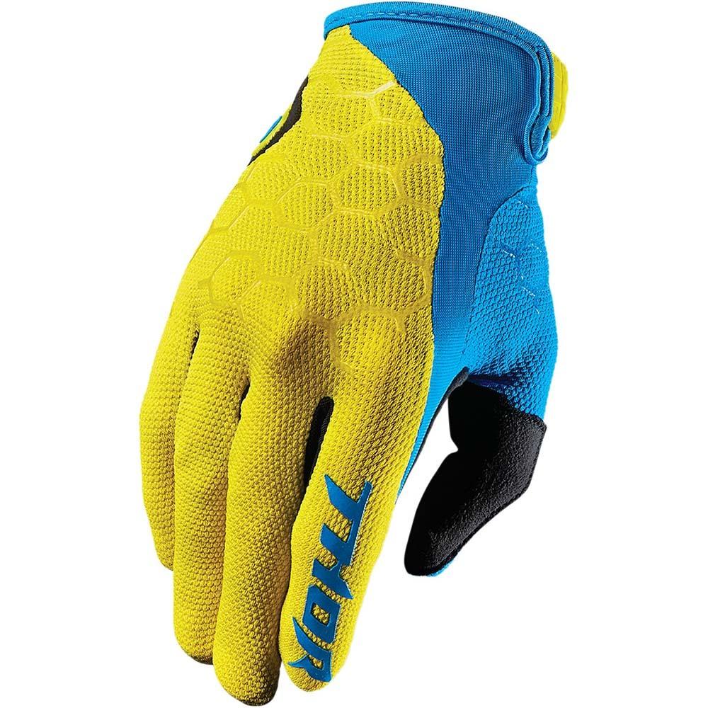 Thor - Draft Yellow/Blue перчатки, желто-синие