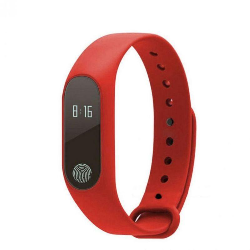 Фитнес Браслет Intelligence Health Bracelet M2, Красный