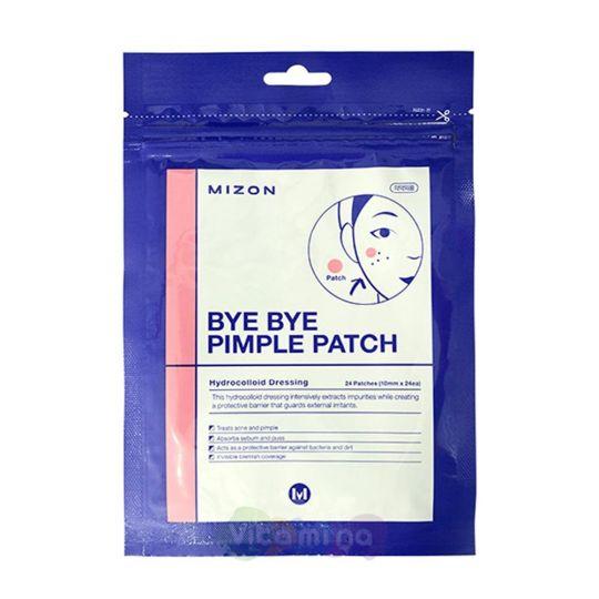 Mizon Противовоспалительные локальные патчи от акне Bye Bye Pimple Patch