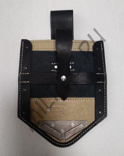 Чехол на складную немецкую пехотную лопату (копия) вариант 1