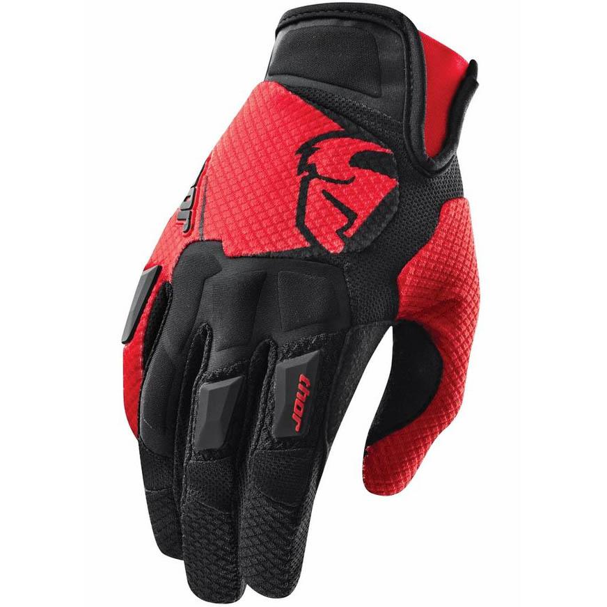 Thor - Flow Red перчатки, красные