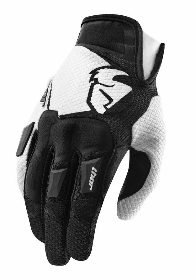 Thor - Flow Black перчатки, черные