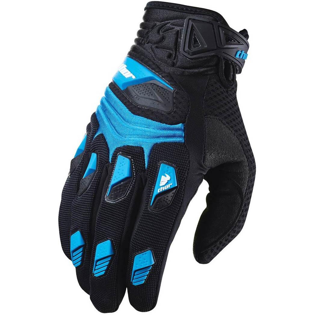 Thor - Deflector Blue перчатки, синие