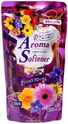 Кондиционер для белья с микрокапсулами с ароматом полевых цветов, сменная упаковка, 300 мл