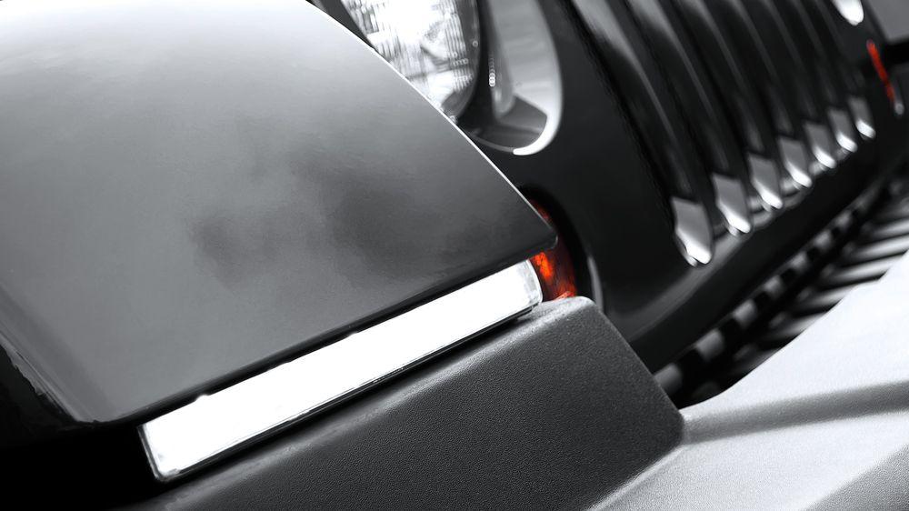 Комплект оформления фар LED (Jeep Wrangler)