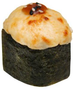 Запечённые суши угорь 40г