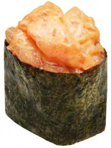Острые суши Лосось 40г