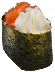 Сливочные суши угорь 40г