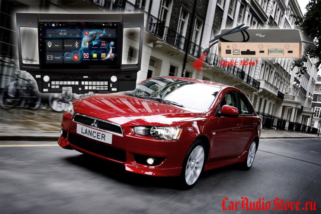 Mitsubishi Lancer Redpower 31037 R IPS DSP ANDROID 7