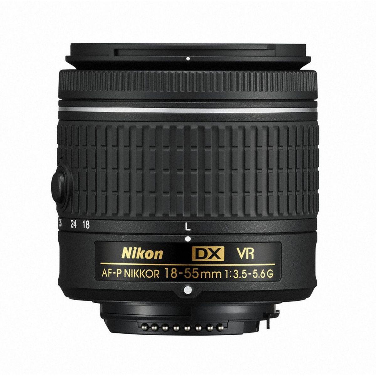 Nikon 18-55mm f/3.5-5.6G AF-P DX VR Nikkor