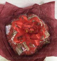 кофейный букет со сладостями