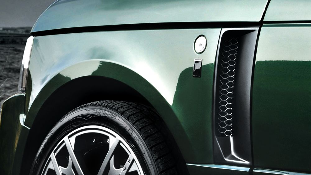 RS — боковые воздухозаборники (Range Rover Vogue 2009-2012)