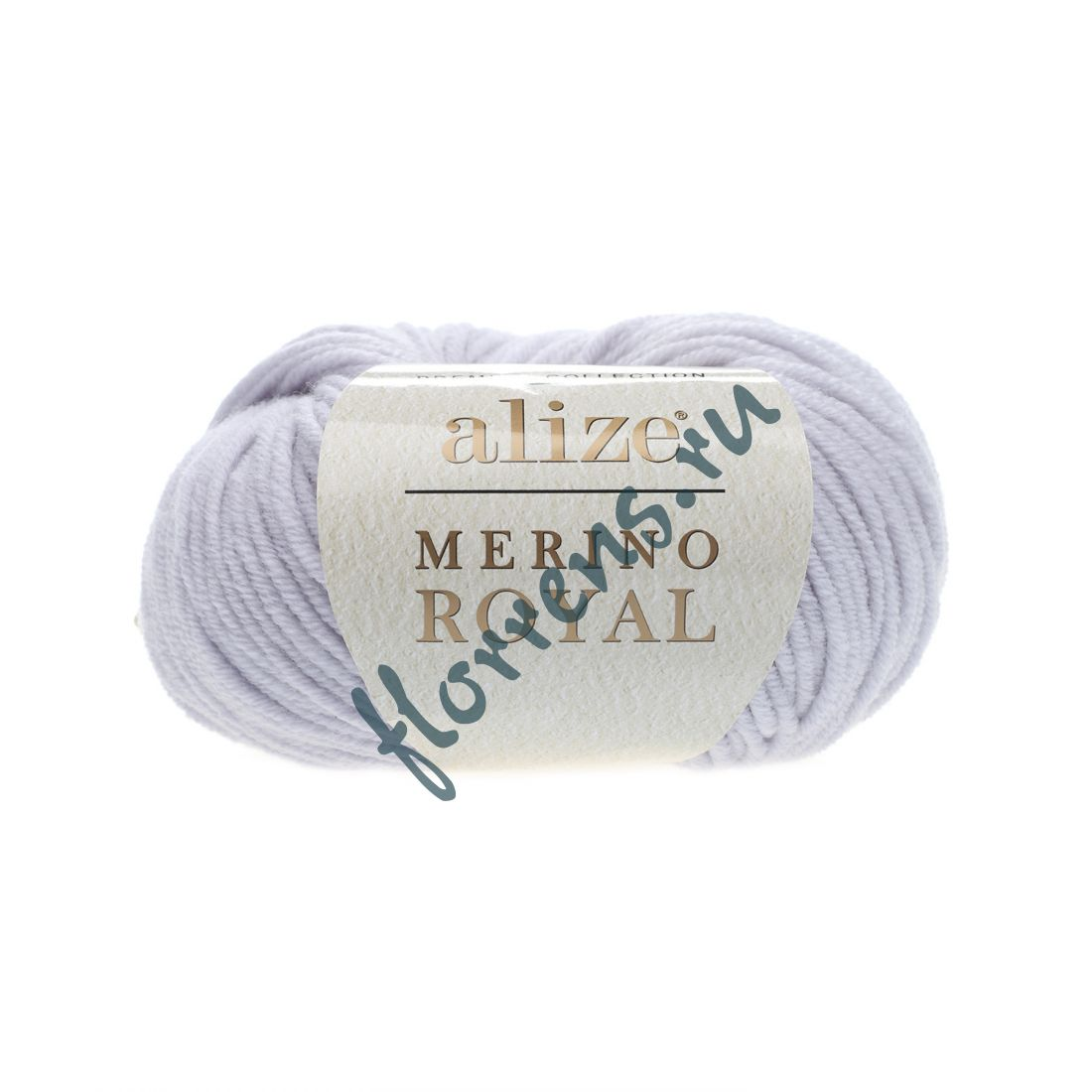 "Пряжа ""Alize"" Merino Royal / 362 св. серый"