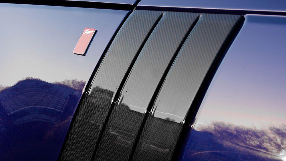 Воздухозаборники из композитного карбона (Range Rover Vogue 2013)