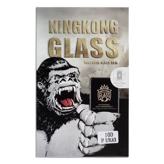 Защитное стекло King Kong Samsung S9 Full Glue черный