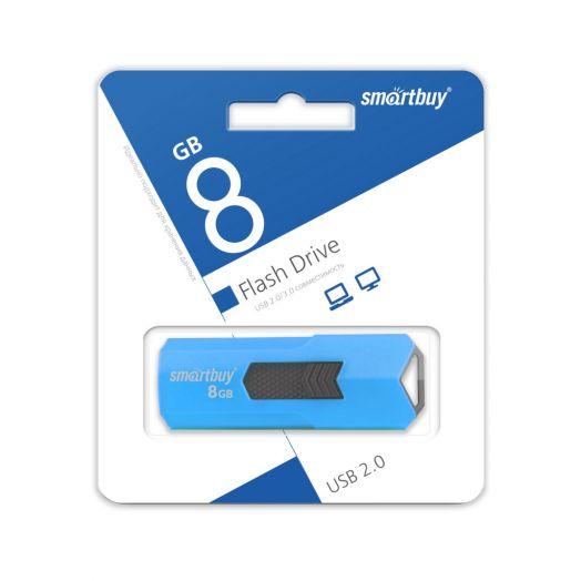USB накопитель Smartbuy 8GB STREAM Blue