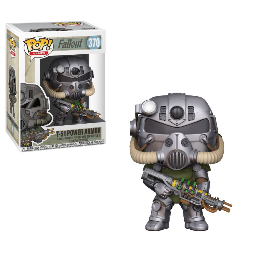 Фигурка Funko POP! Vinyl: Games: Fallout S2: T-51 Power Armor 33973
