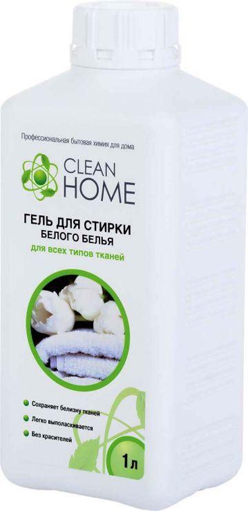 Clean Home Гель для стирки белого белья 1 л