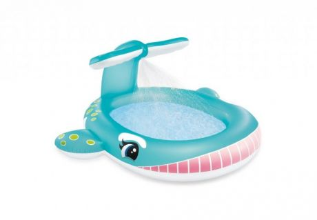 """Детский надувной бассейн """"Кит"""" INTEX 57440"""
