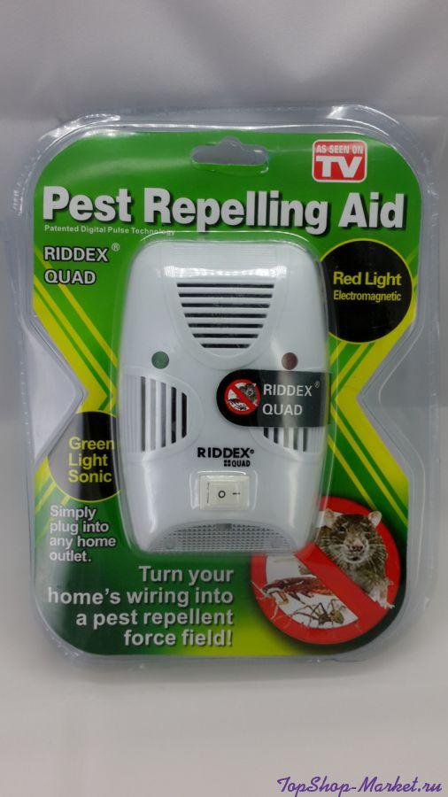 Отпугиватель насекомых и грызунов PEST REPELLING AID новая модель