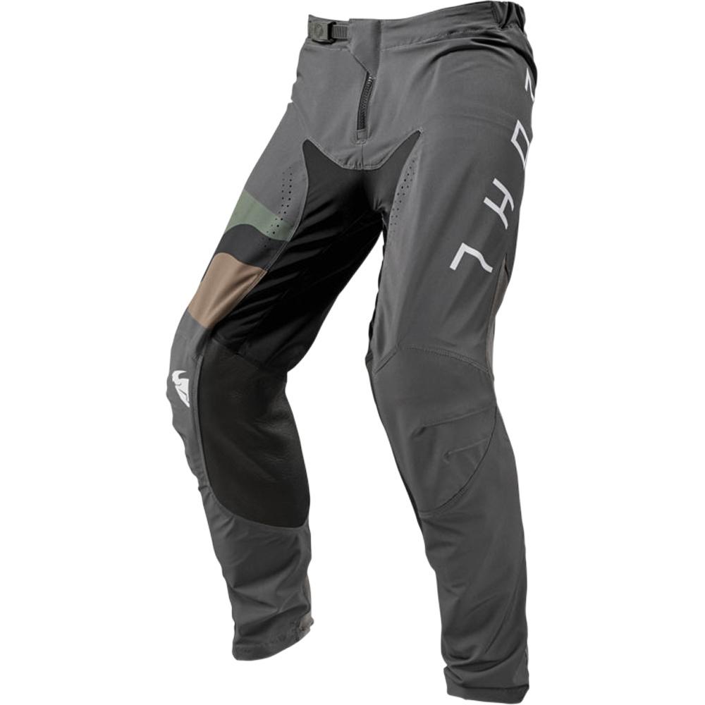 Thor - 2019 Prime Pro Fighter Charcoal/Camo штаны, серый камуфляж