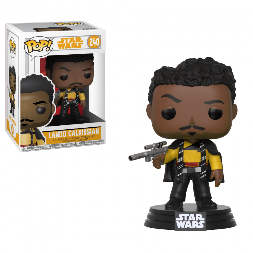 Фигурка Funko POP! Bobble: Star Wars: Solo: Lando Calrissian POP 9 26982