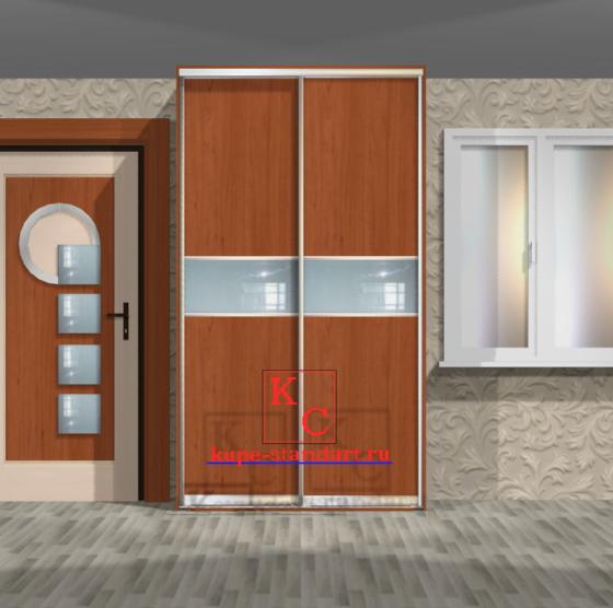 Встроенный шкаф купе - Байкал 1400