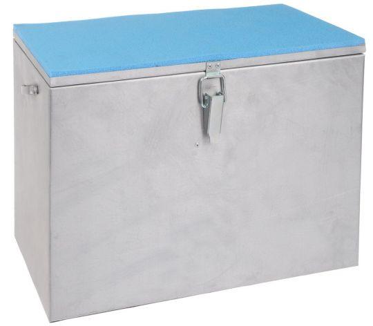 Ящик зимний алюминиевый 400*190*290 одноярусный Рост