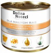 DOLINA NOTECI PREMIUM для собак мелких пород с фазаном, тыквой и макаронами 185г