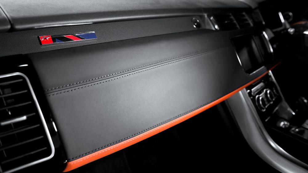 Обшивка торпеды (Range Rover Sport 2014)