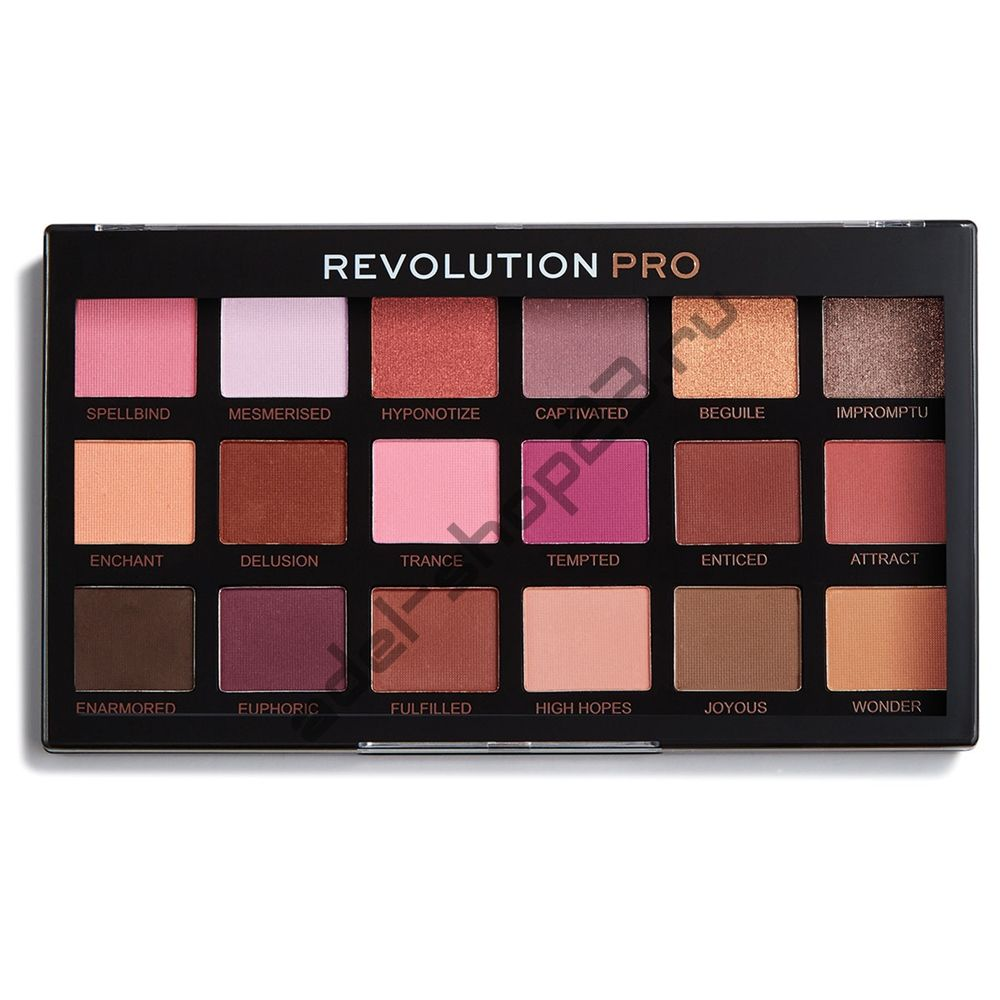 Revolution - тени для век Pro Regeneration Palette Entranced