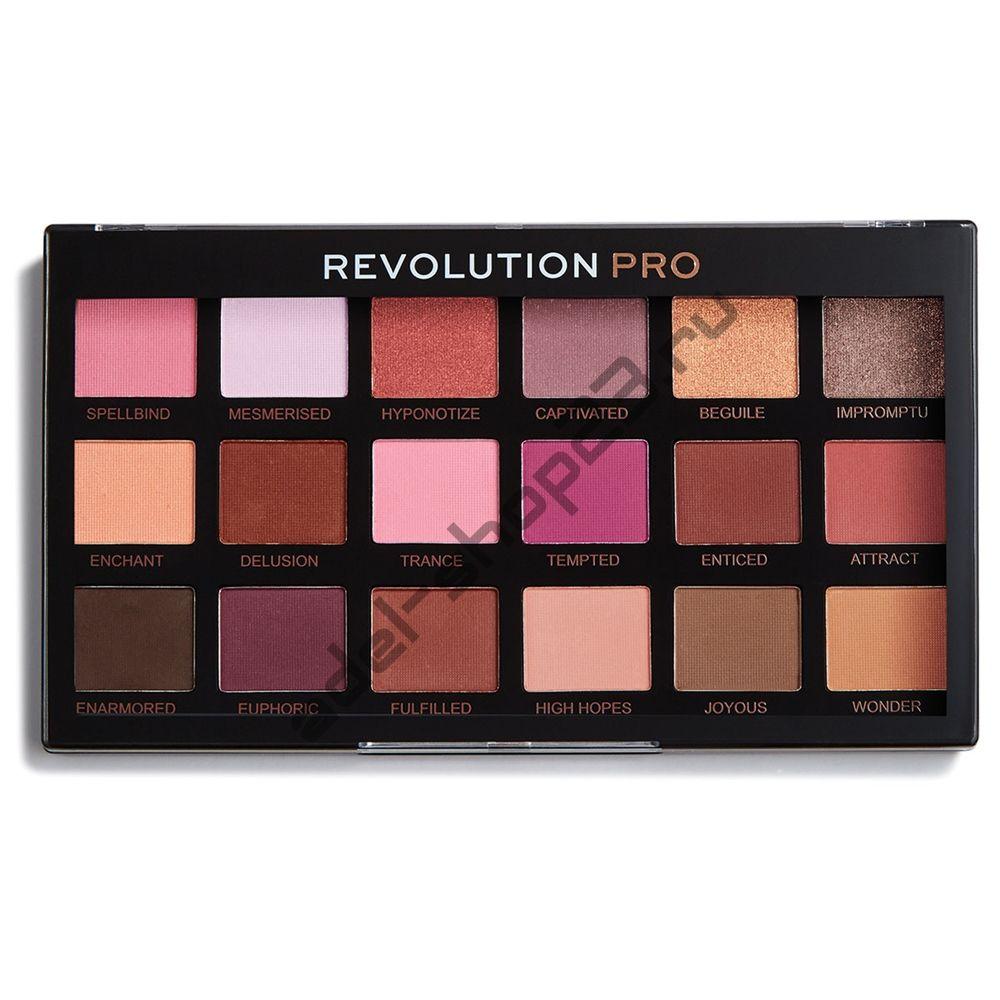 Revolution - тени для век Pro Regeneration Palette Entranced