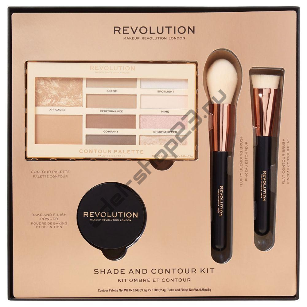 Revolution - подарочный набор Shade & Contour Kit