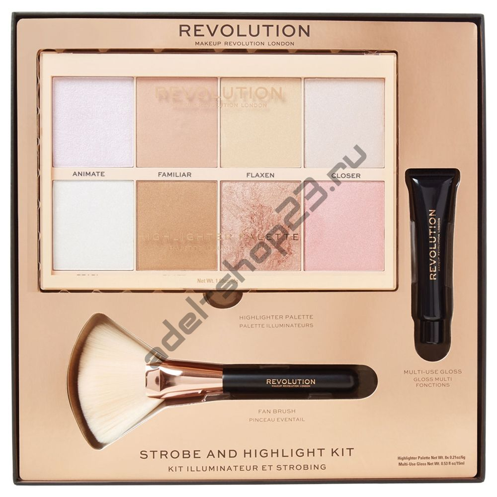 Revolution - подарочный набор Strobe & Highlighting Kit