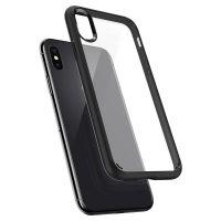 Оригинальный чехол Spigen Ultra Hybrid для iPhone X черный