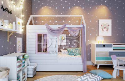 Кровать Домик - 2